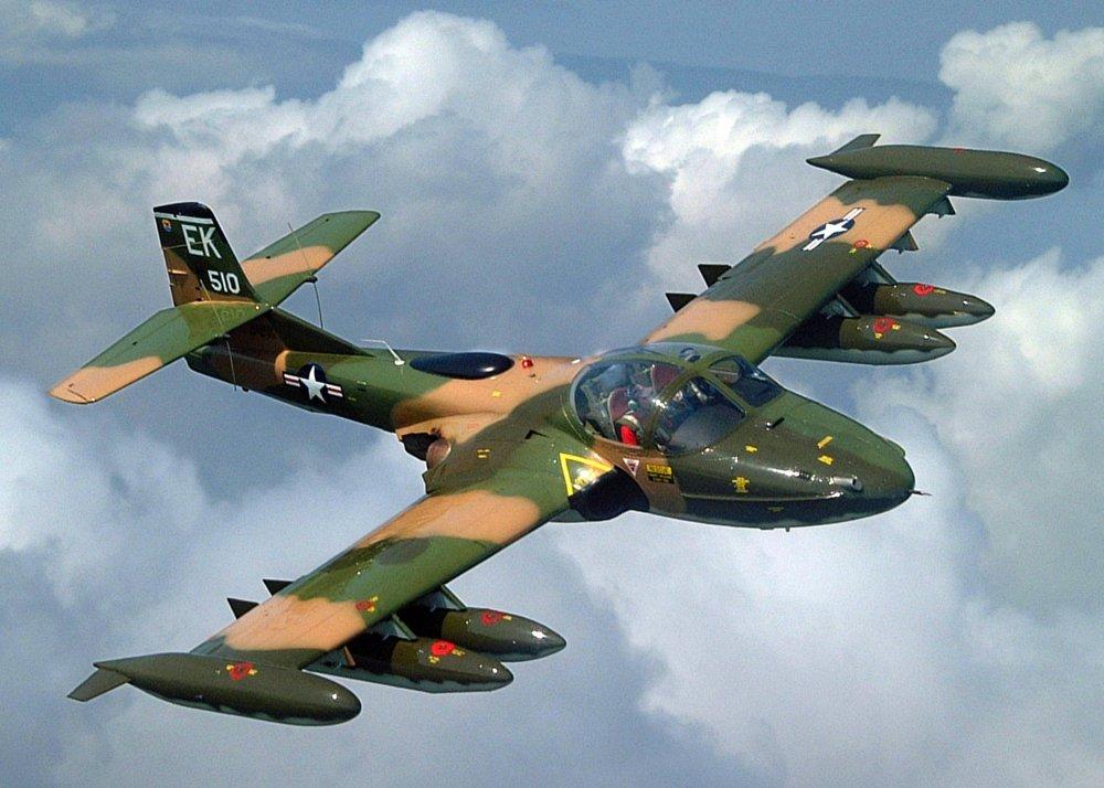 A-37A «Dragonfly». Легкий штурмовик. (США)