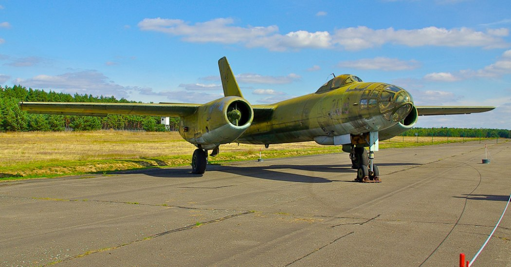 Ил-28. Фронтовой бомбардировщик. (СССР)