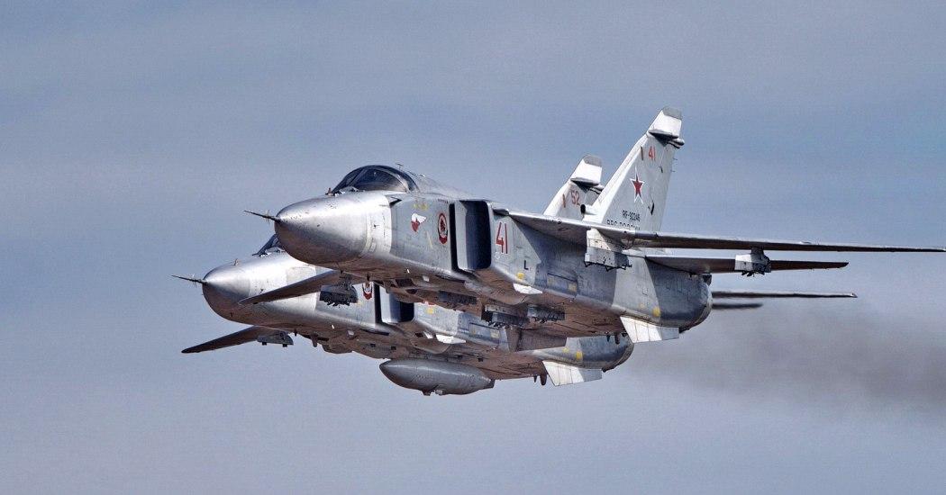 Су-24 — советский/российский фронтовой бомбардировщик.