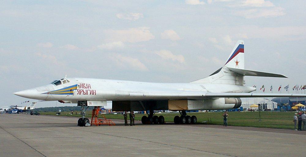 Ту-160. Стратегический бомбардировшик. (СССР-Россия)