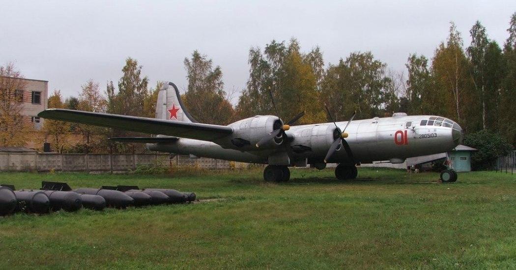 Ту-4. Стратегический бомбардировщик. (СССР)