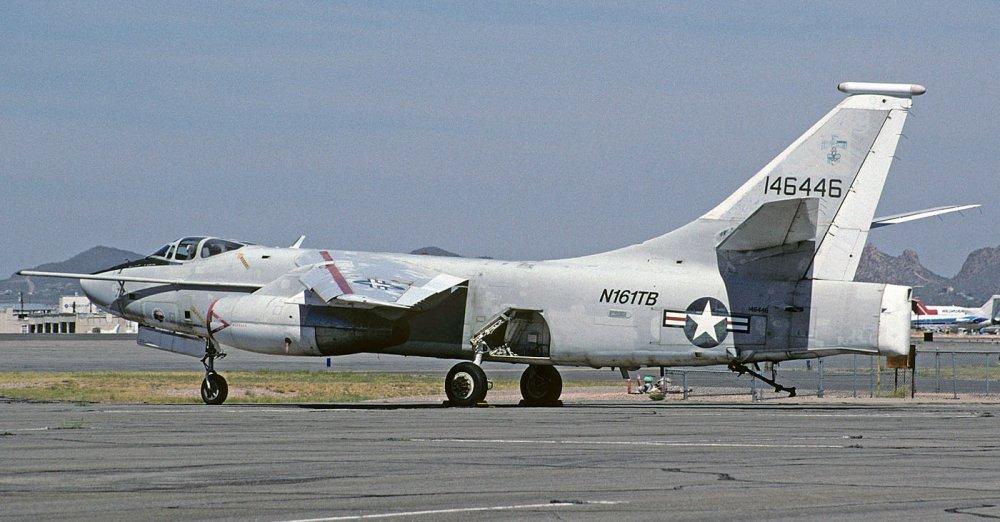 Douglas A-3 Skywarrior. Палубный бомбардировщик. (США)