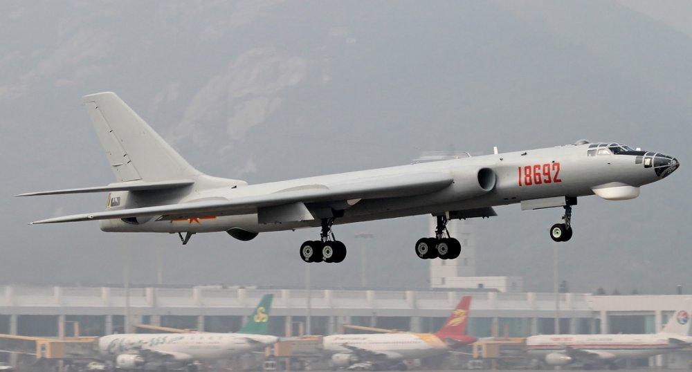 Xian H-6. Бомбардировщик. (Китай)