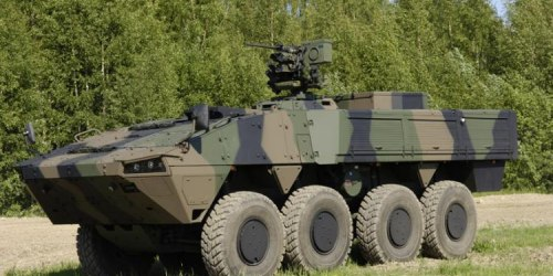 Patria AMV. ББМ. (Финляндия)