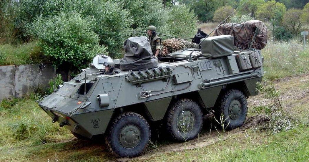 BMR-600. БТР. (Испания)