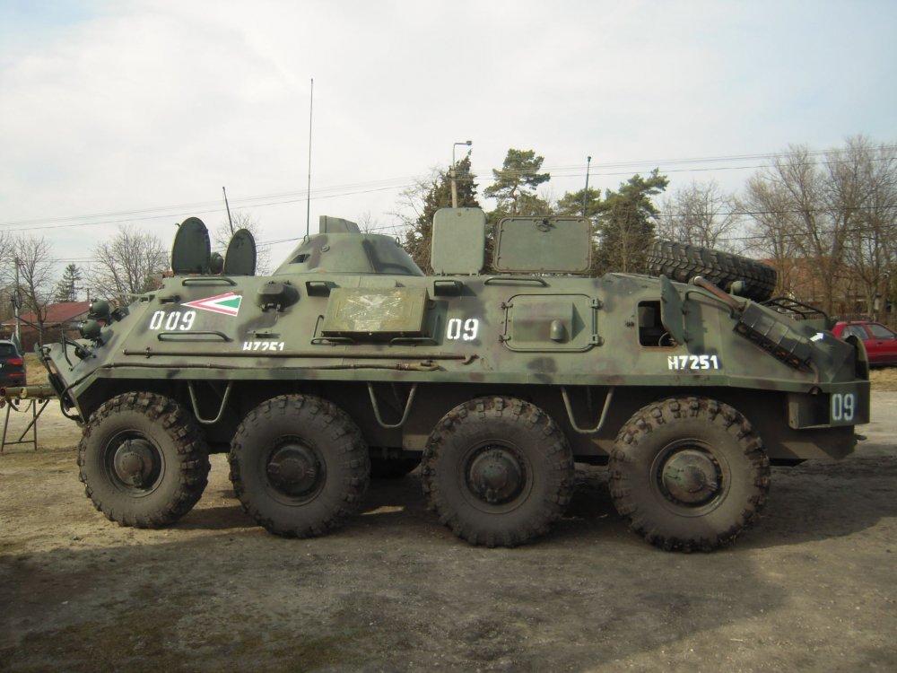 БТР-60П. БТР. (СССР)