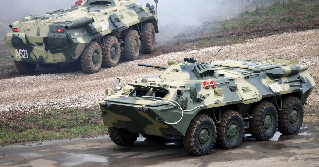 БТР-80. БТР. (СССР - Россия)