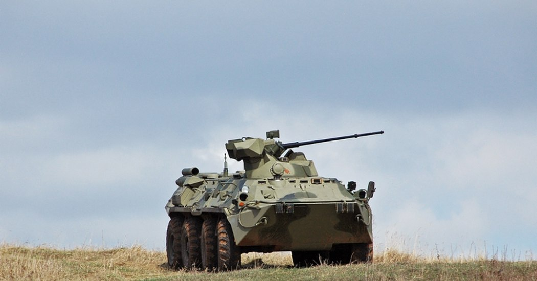 БТР-82. Бронетранспортер. (Россия)