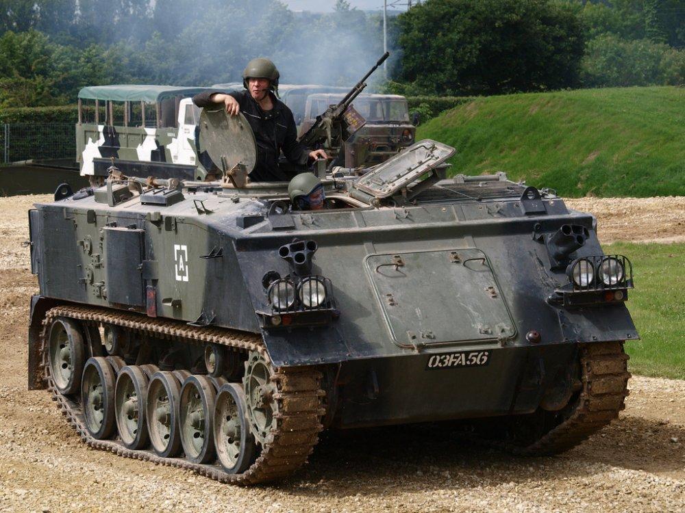 "FV432 ""Trojan"". БТР. (Англия)"