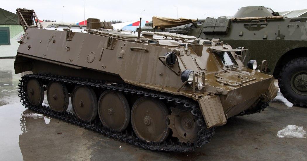 ГТ-МУ - гусеничный легкобронированный авиадесантируемый бронетранспортер производимый в СССР.