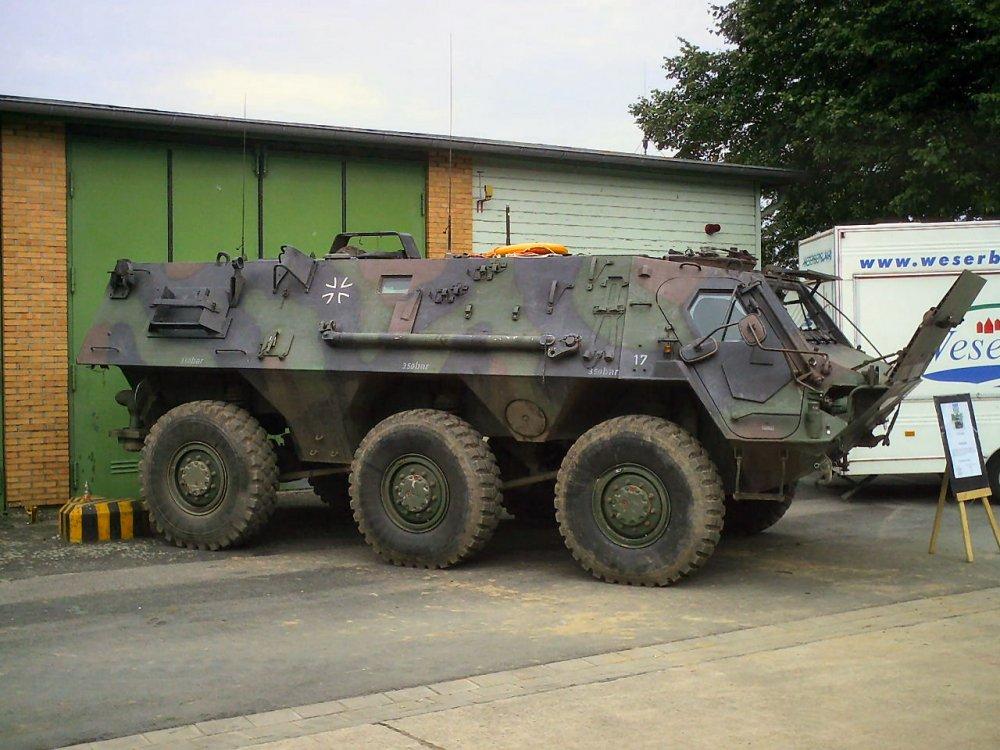TPz 1 Fuchs. БТР. (Германия)