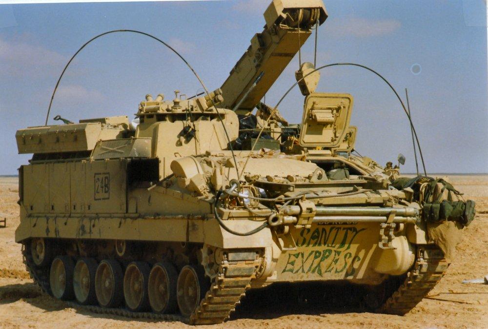 FV510 Warrior. БМП. (Англия)