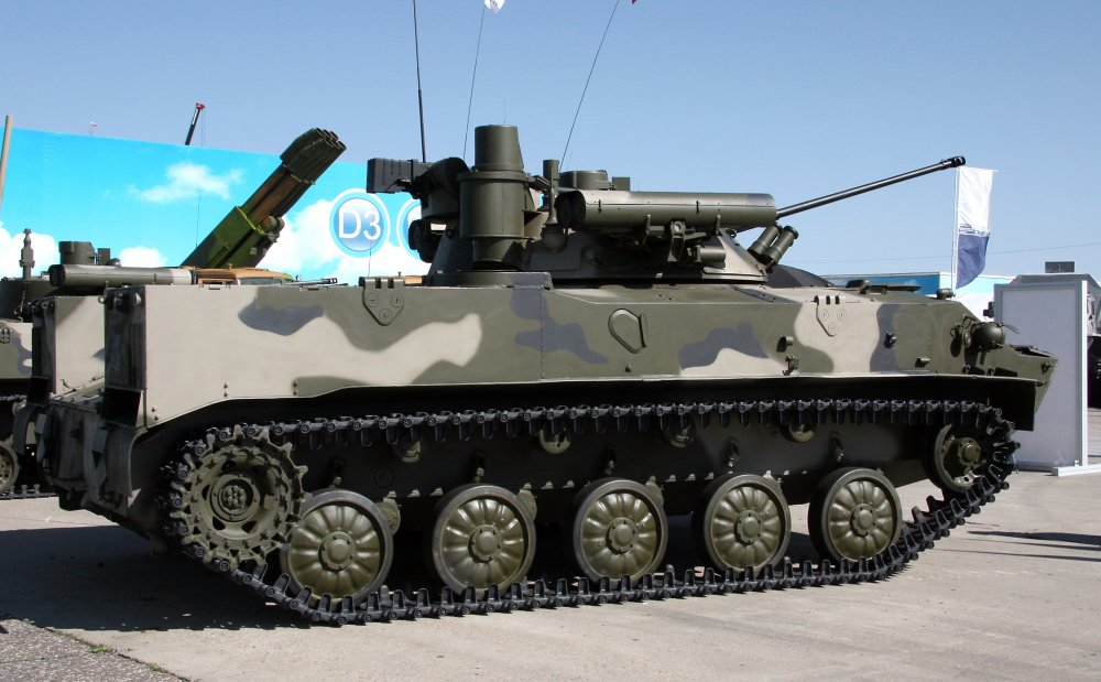 БМД-3 «Бахча». БМД. (СССР-Россия)