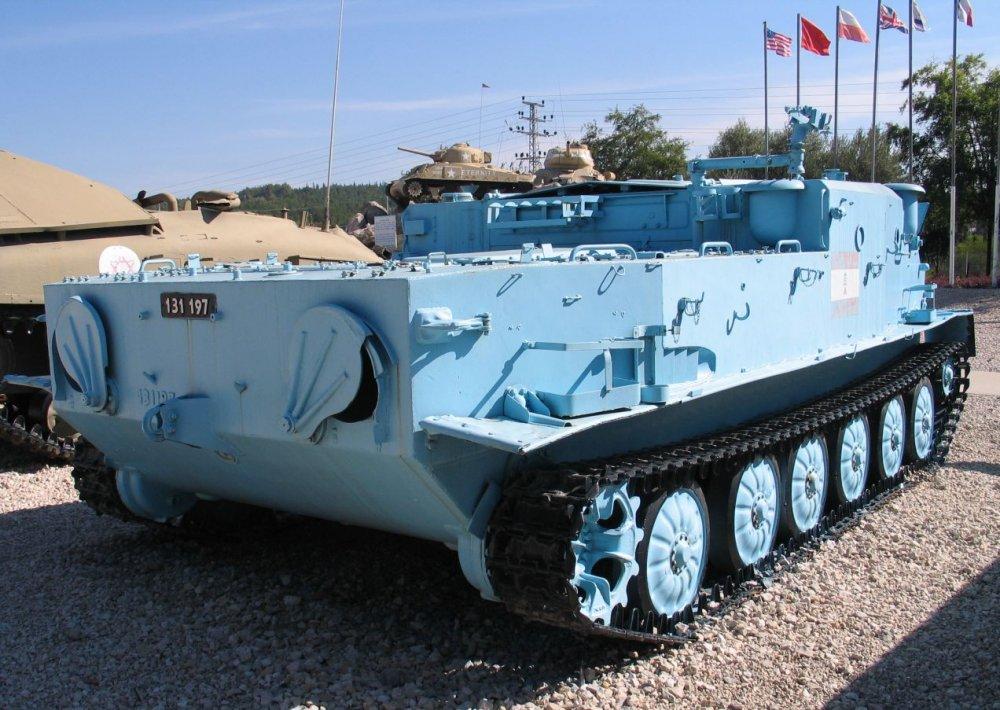 БТР-50П. Бронетранспортер. (СССР)