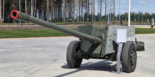 МТ-12. Противотанковая пушка. (СССР).