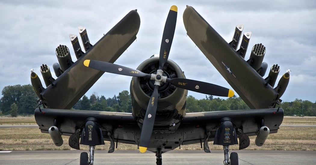 Douglas A-1 Skyraider. Штурмовик. (США)