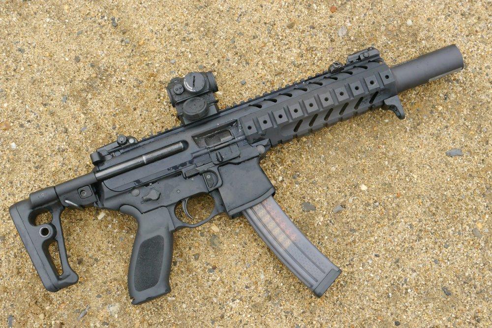 SIG-Sauer MPX. Пистолет-пулемет. (США)