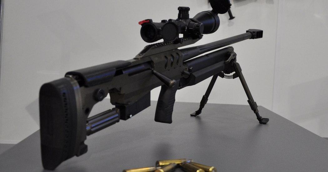 Bor (Alex-338). Снайперская винтовка. (Польша)
