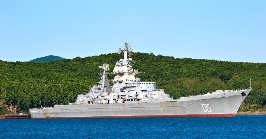 «Адмирал Лазарев». Тяжелый атомный ракетный крейсер. (СССР)
