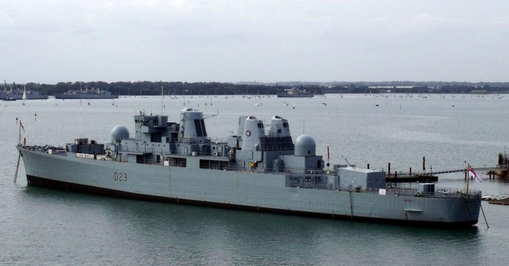 D23 HMS Bristol 2