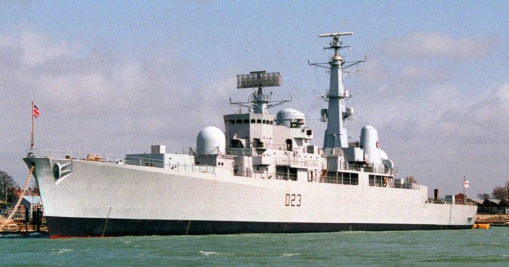 D23 HMS Bristol 3