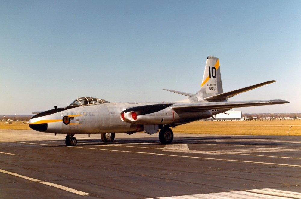 North American B-45 Tornado. Реактивный бомбардировщик. (США)