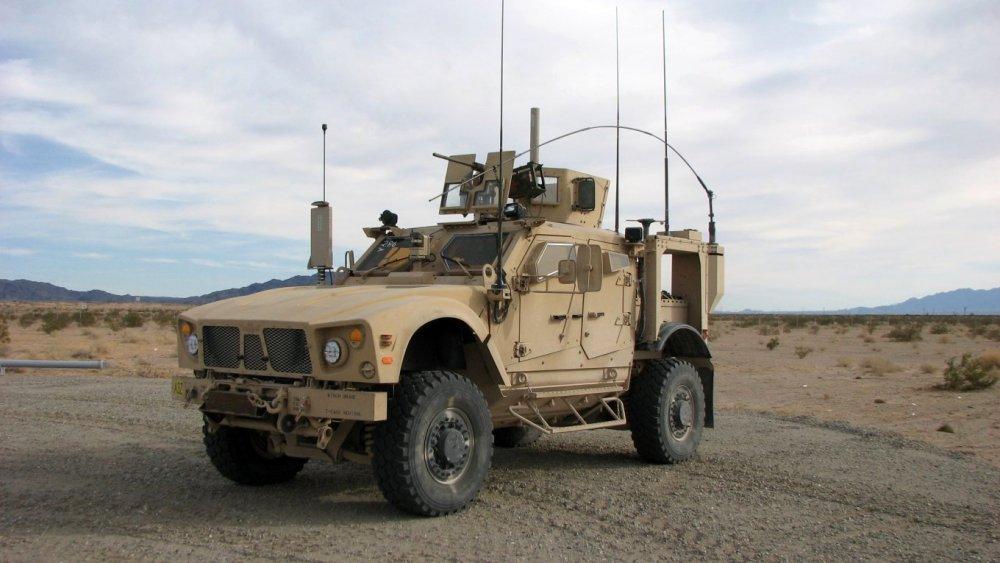 M-ATV. Бронеавтомобиль. (США)