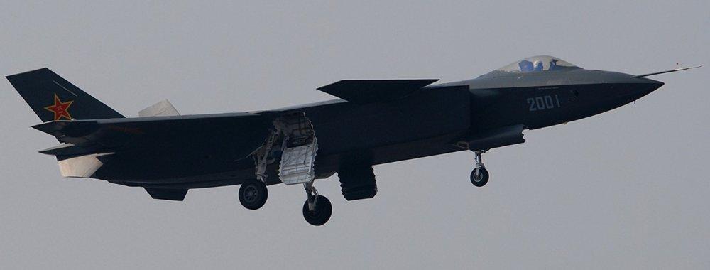 Chengdu J-20. Истребитель. (Китай)