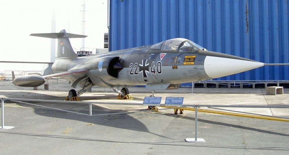 Lockheed F-104 Starfighter. Многоцелевой истребитель. (США)