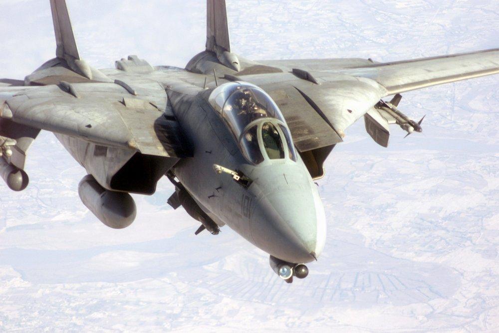 Grumman F-14 Tomcat. Истребитель-перехватчик. (США)