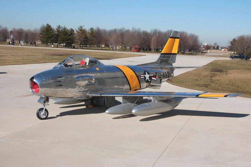 F-86 Sabre. Истребитель. (США)