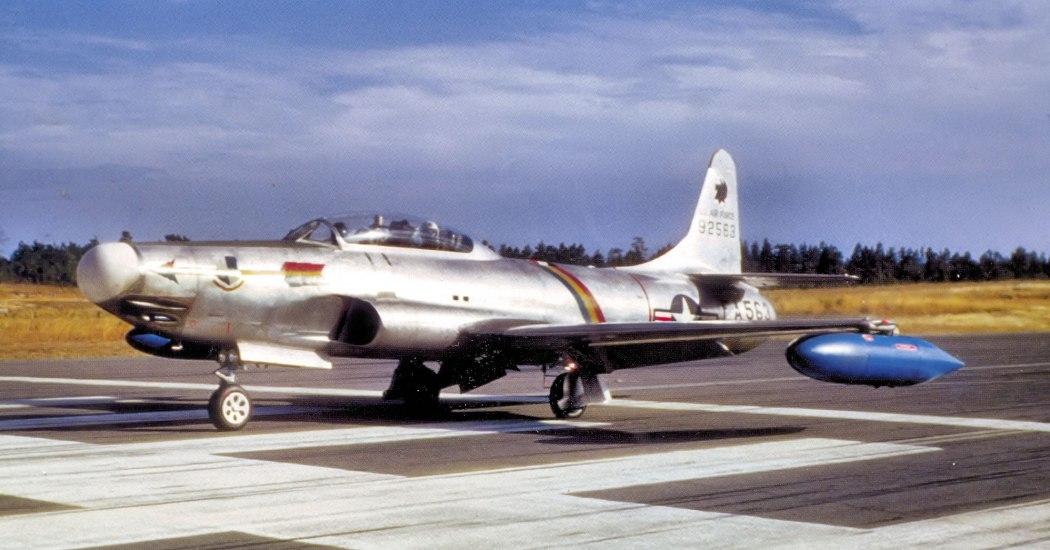 F-94 Starfire. Истребитель-перехватчик. (США)