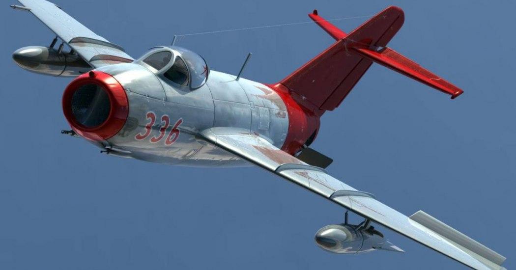 МиГ-15. Истребитель. (СССР)