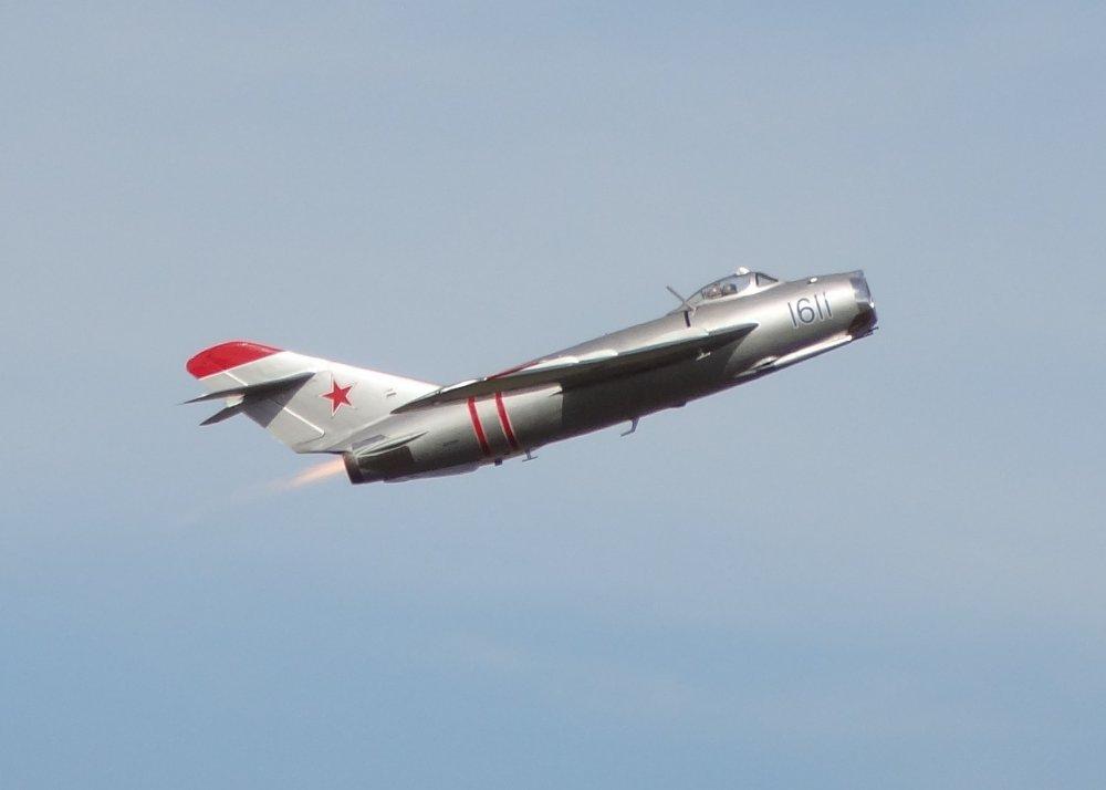 МиГ-17. Фронтовой истребитель. (СССР)