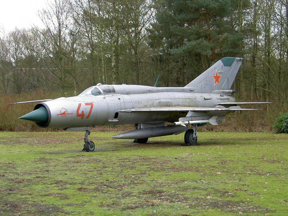 МиГ-21. Многоцелевой истребитель. (СССР)