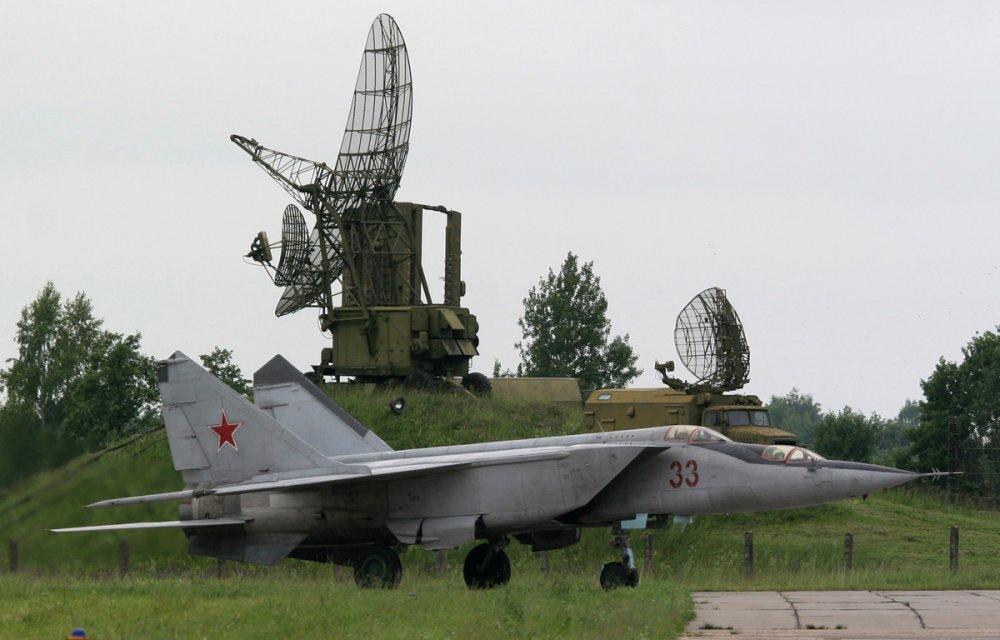 МиГ-25. Истребитель-перехватчик. (СССР)