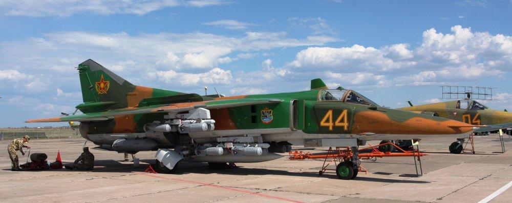 Миг-27. Истребитель-бомбардировщик. (СССР)