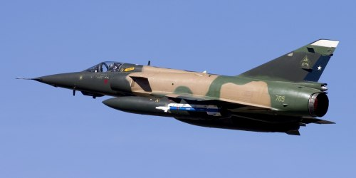 Dassault Mirage 5. Многоцелевой истребитель. (Франция)