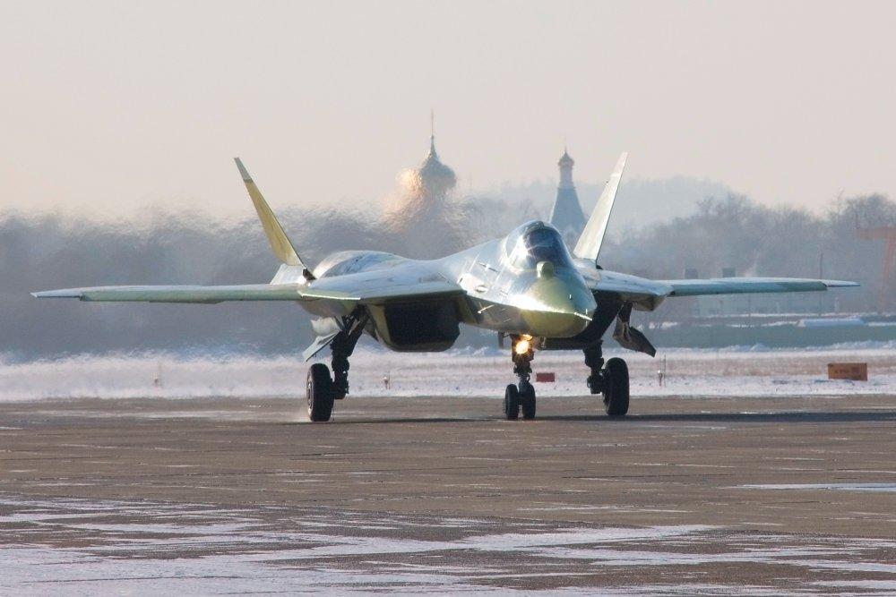 ПАК ФА. Индексы Т-50, И-21, СУ-40, Су-50, Чабрец, И-90. Многоцелевой истребитель. (Россия)