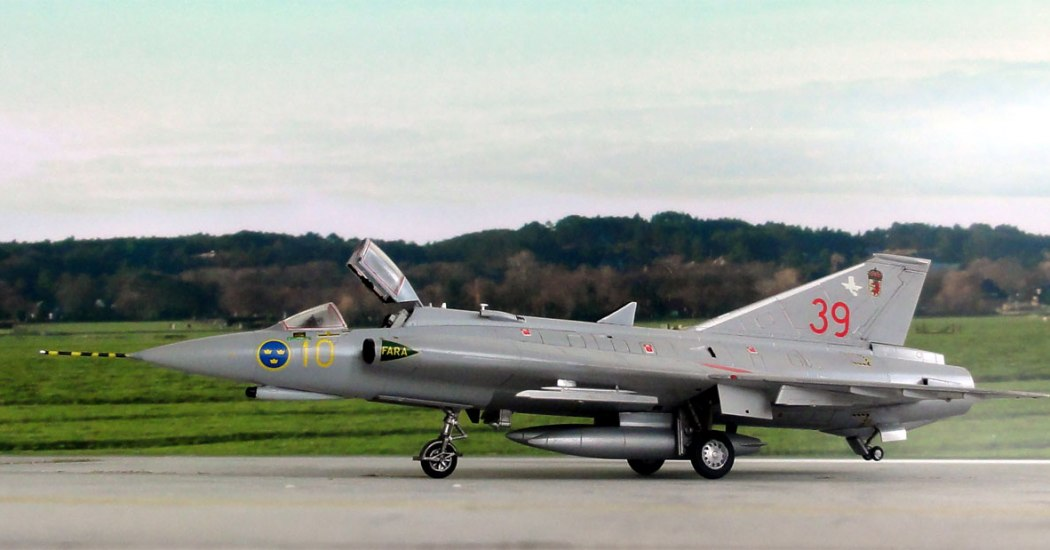 Saab 35 «Draken». Истребитель. (Швеция)