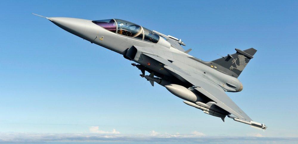 Saab JAS 39 Gripen. Многоцелевой истребитель. (Швеция)