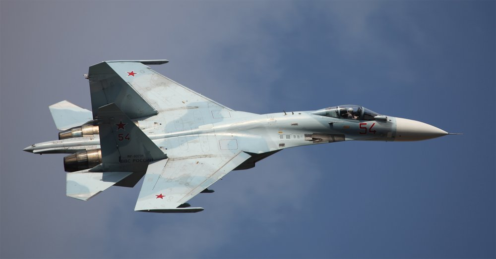 Су-27. Истребитель. (СССР-Россия)