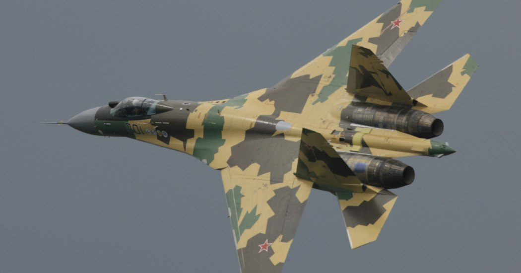 Су-35. Истребитель. (Россия)