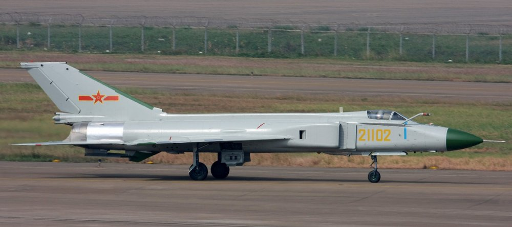 Shenyang J-8, II. Истребитель-перехватчик. (Китай)