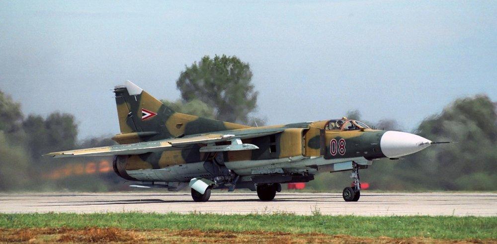 МиГ-23. Многоцелевой истребитель. (СССР)