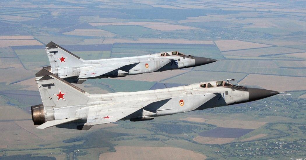 МиГ-31. Истребитель-перехватчик. (СССР-Россия)