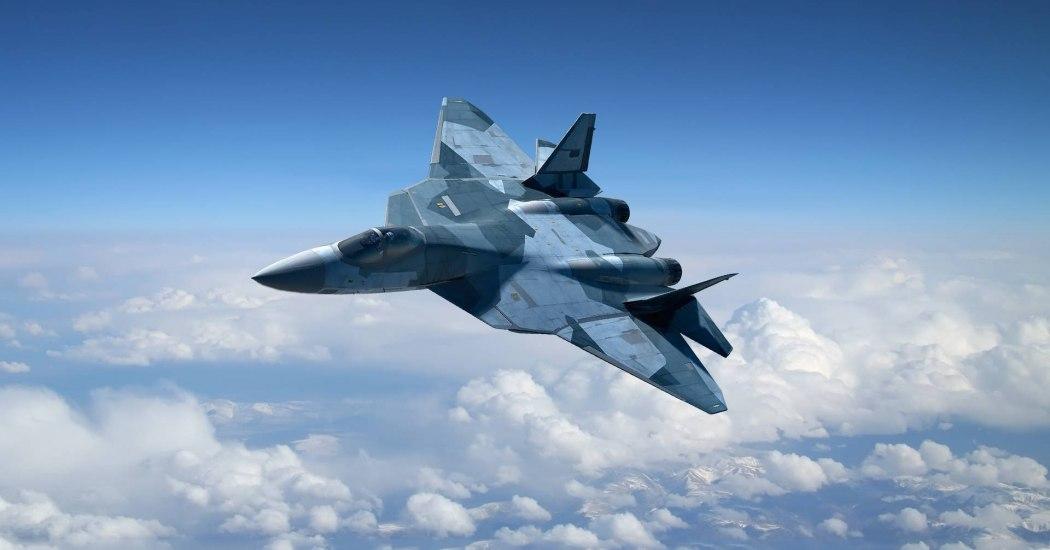 СУ-57, ПАК ФА. Индексы Т-50, И-21, СУ-40, Су-50, Чабрец, И-90. Многоцелевой истребитель. (Россия)