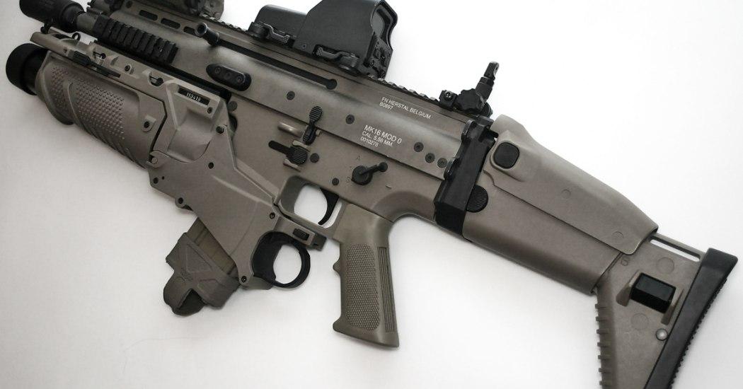FN SCAR. Штурмовая винтовка. (Бельгия-США)
