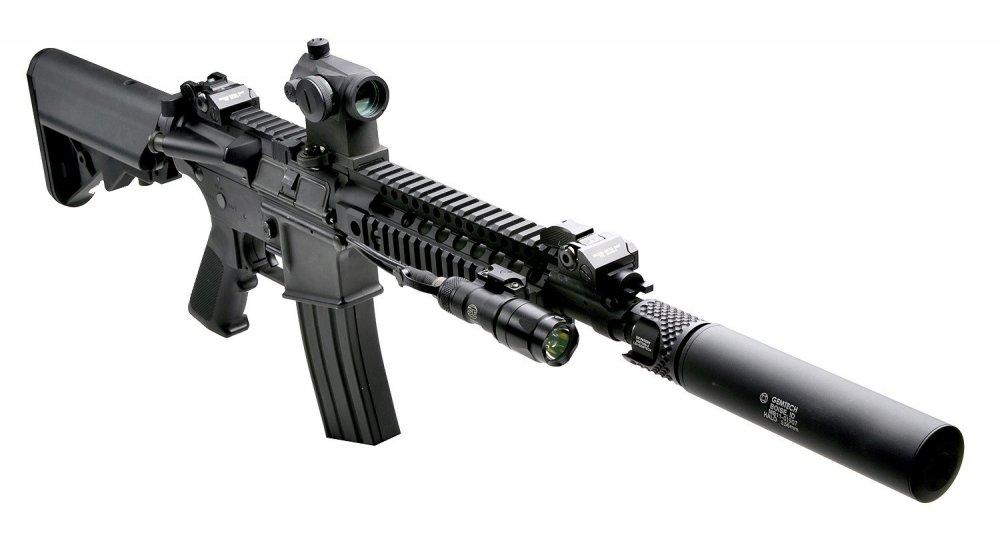Barrett REC7. Штурмовая винтовка. (США)