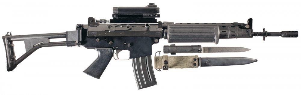 FN FNC. Штурмовая винтовка. (Бельгия)
